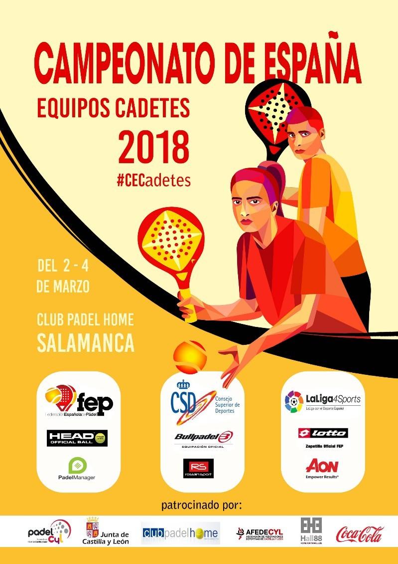 CAMPEONATO DE ESPAÑA EQUIPOS CADETES