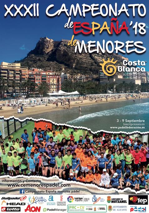 Streaming Finales Femenina Y Masculina Junior XXXII Campeonato de España de Pádel de Menores 2018