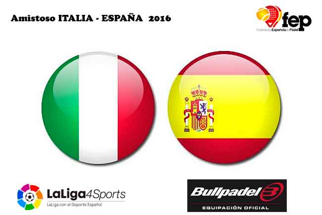 Amistoso Italia-España 2016