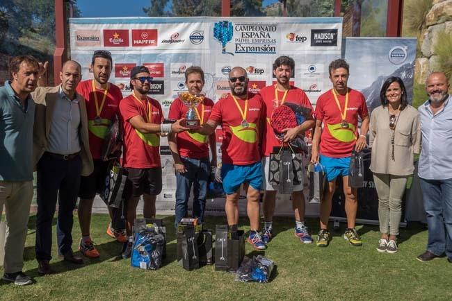 Telepizza VOLVO en masculino y Bodypádel en femenino, campeones de España